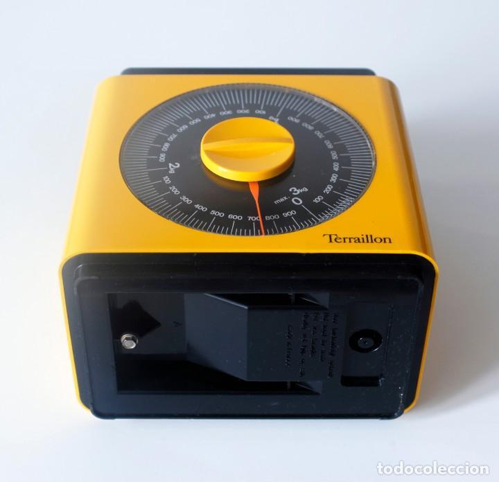 Vintage: Báscula de cocina marca Terraillon, Made in France. Incompleta, le falta la bandeja. Hasta 3 kg. - Foto 4 - 207043407