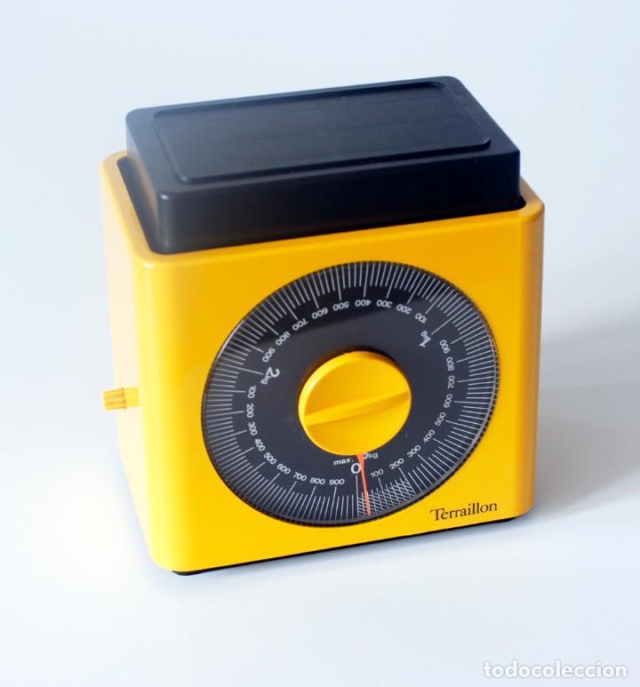 Vintage: Báscula de cocina marca Terraillon, Made in France. Incompleta, le falta la bandeja. Hasta 3 kg. - Foto 5 - 207043407
