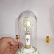 Vintage: FANAL CRISAL VIRGEN DEL PILAR PATRONA EJERCITO ZARAGOZA. Lote 207297135