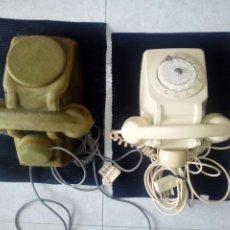 Vintage: LOTE DE DOS TELEFONOS FRANCESES AÑOS SESENTA. UNO DE ELLOS CUSTOMIZADO.. Lote 207422386