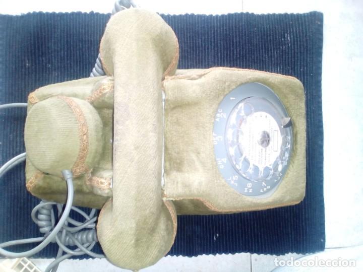 Vintage: LOTE DE DOS TELEFONOS FRANCESES AÑOS SESENTA. UNO DE ELLOS CUSTOMIZADO. - Foto 2 - 207422386