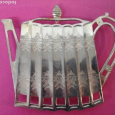 Vintage: SALVAMANTEL PLATA GODINGER SILVER. Lote 207807050