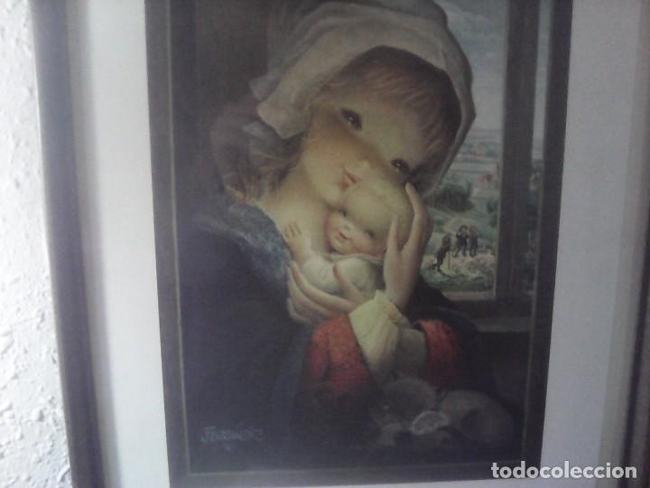 Vintage: precioso cuadro ferrandiz - Foto 4 - 207845741