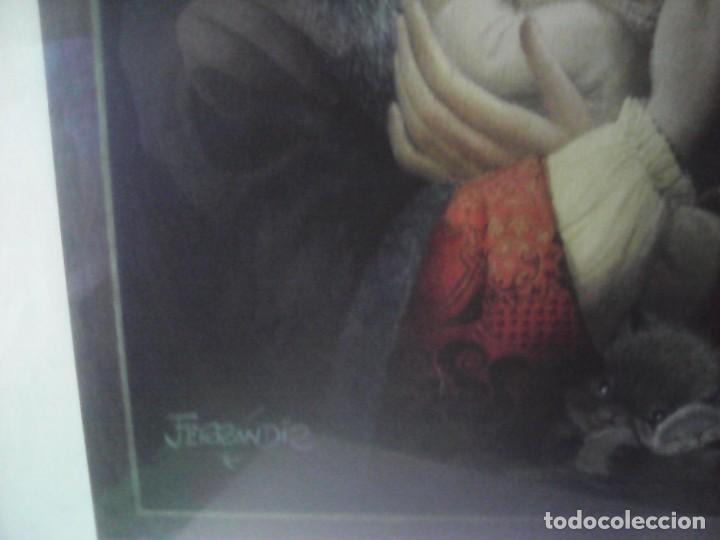 Vintage: precioso cuadro ferrandiz - Foto 5 - 207845741