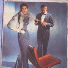 Vintage: CARTEL PUBLICIDAD DE LA SILLA BARCELONA DE MIES VAN DER ROHE. 32 X 25 CM. Lote 208329976