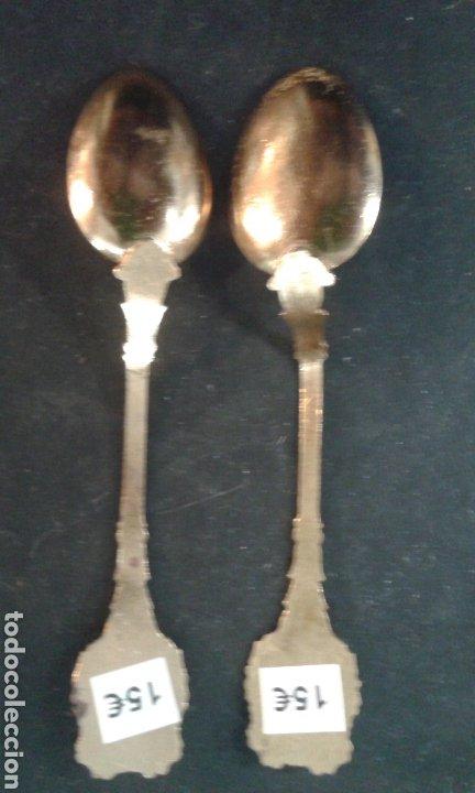Vintage: Pareja de cucharillas Rusas - Foto 6 - 76773169