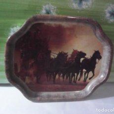 Vintage: BANDEJA TEMATICA OESTE VAQUEROS WILD WEST. Lote 209044143