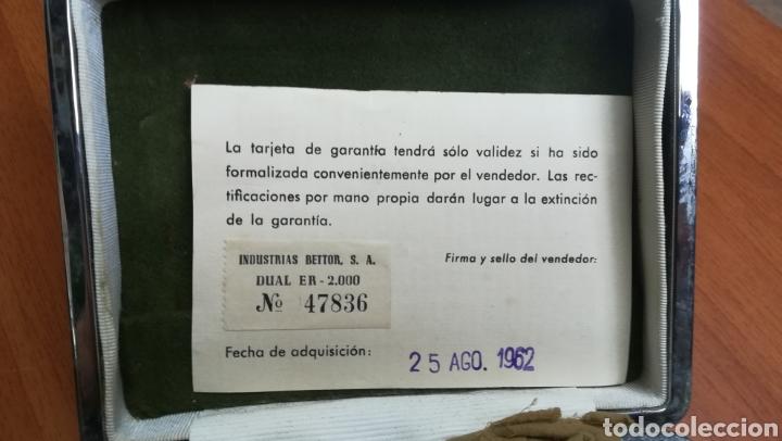 Vintage: Antigua maquinilla de afeitar vintage Bettor Dual con accesorios - Foto 3 - 209253503