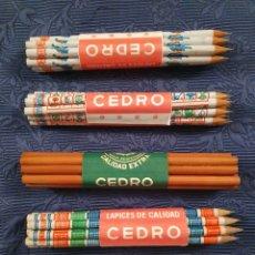 Vintage: LAPICES CEDRO 60 PIEZAS. Lote 210287880