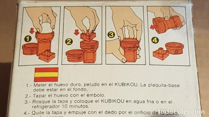 Vintage: KUBIKOU / CURIOSO UTENSILIO DE LOS 70 PARA DAR FORMA CUADRADA A LOS HUEVOS COCIDOS. - Foto 4 - 210685012