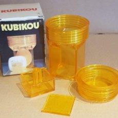 Vintage: KUBIKOU / CURIOSO UTENSILIO DE LOS 70 PARA DAR FORMA CUADRADA A LOS HUEVOS COCIDOS.. Lote 210685012