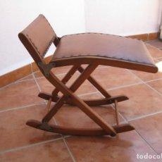 Vintage: SILLA, TABURETE DE RODILLAS, ERGONOMICA, ORTOPEDICA.. Lote 212006600