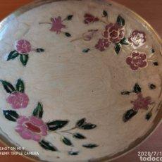 Vintage: ADORNO DE BRONCE ESMALTADO, PERFECTO, PRECIOSO, VER. Lote 212188570