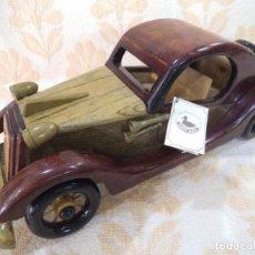 Vintage: COCHE DE MADERA -2-. Lote 213919610