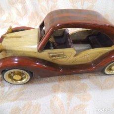 Vintage: COCHE DE MADERA -3-. Lote 213919988