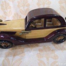 Vintage: COCHE DE MADERA -4-. Lote 213920326