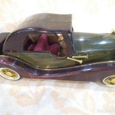 Vintage: COCHE DE MADERA -5-. Lote 213920728