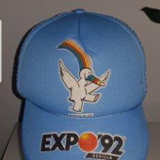Vintage: GORRA EXPO 92. Lote 214054728