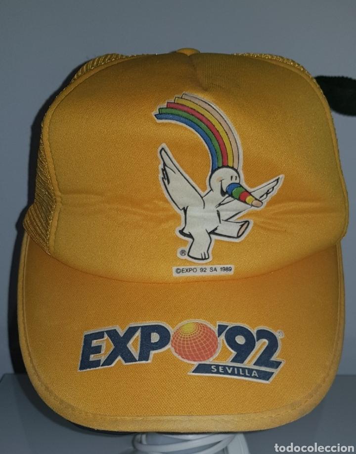 GORRA EXPO 92 (Vintage - Varios)