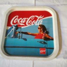 Vintage: BANDEJA METÁLICA COCA COLA AÑOS 80. Lote 214402756