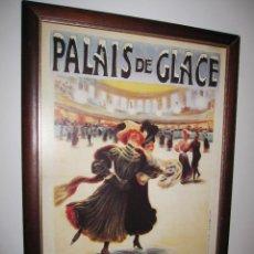 Vintage: CUADRO ESTILO VINTAGE PALAIS DE GLACE CHAMPS ELYSEES. PARÍS. Lote 214806730