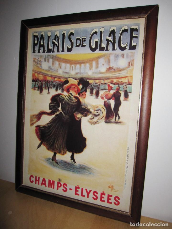 Vintage: Cuadro estilo vintage Palais de Glace Champs Elysees. París - Foto 3 - 214806730