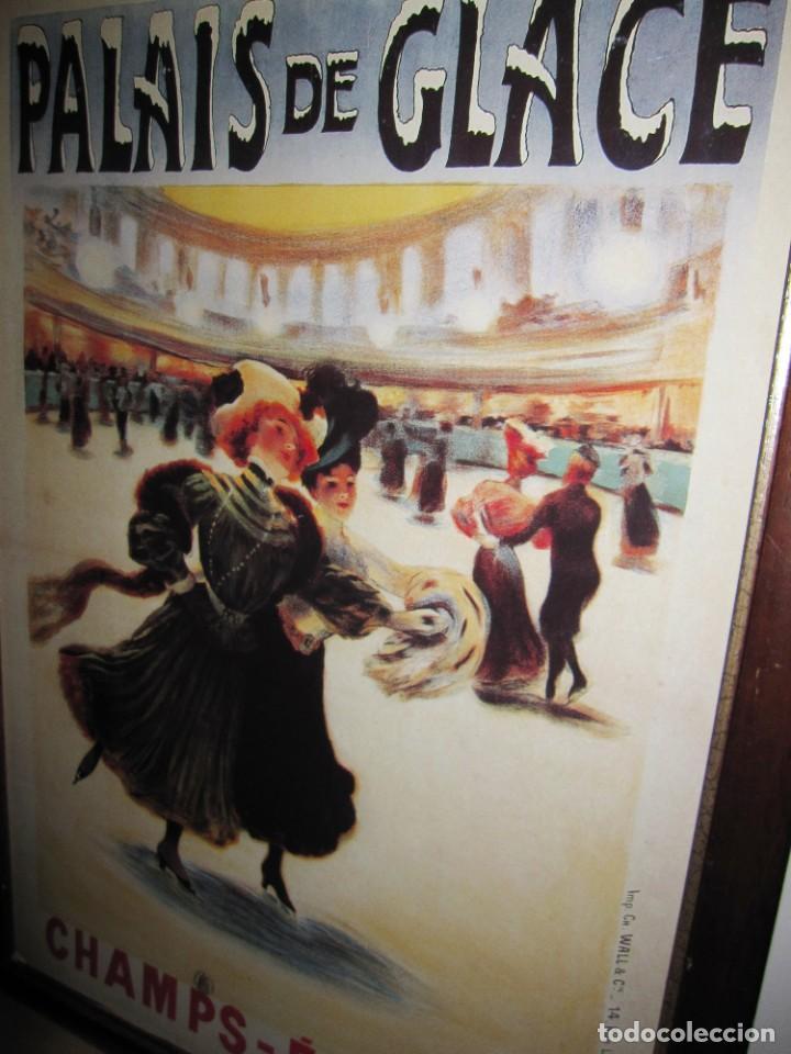Vintage: Cuadro estilo vintage Palais de Glace Champs Elysees. París - Foto 5 - 214806730