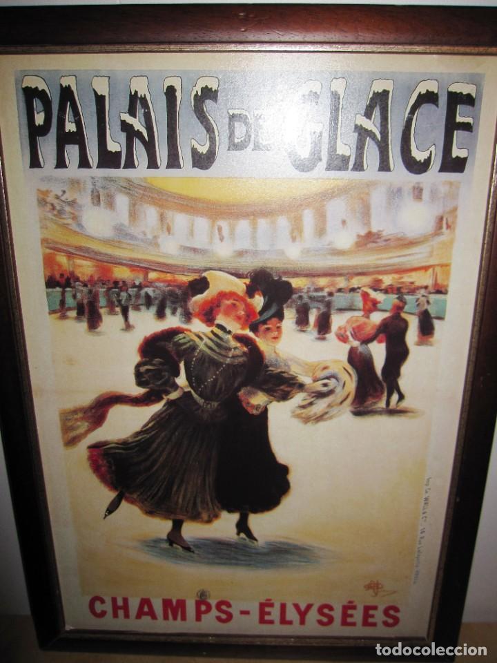 Vintage: Cuadro estilo vintage Palais de Glace Champs Elysees. París - Foto 7 - 214806730