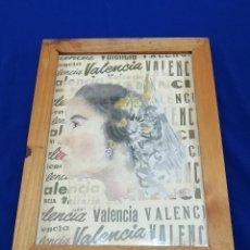 Vintage: CUADRO FALLERA. Lote 214810435