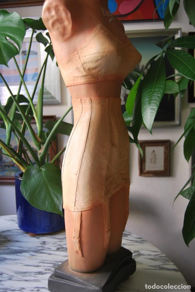 Vintage: PRECIOSO MANIQUÍ DE YESO O ESCAYOLA - MUJER - LENCERÍA FEMENINA - NOVITA - LIANE - DIOR - AÑOS 50-60 - Foto 22 - 215067437