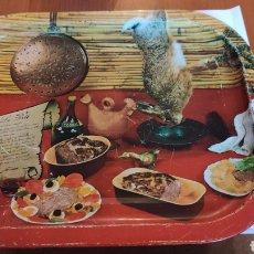 Vintage: PRECIOSA BANDEJA EN METAL, PRECIOSA, VER. Lote 215568401