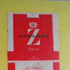Vintage: PAQUETES DE TABACO ANTIGUOS 6 UNIDADES. Lote 215694286