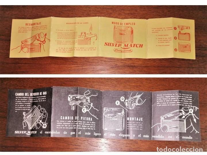 Vintage: JUEGO SILVER MATCH - Foto 5 - 216371090