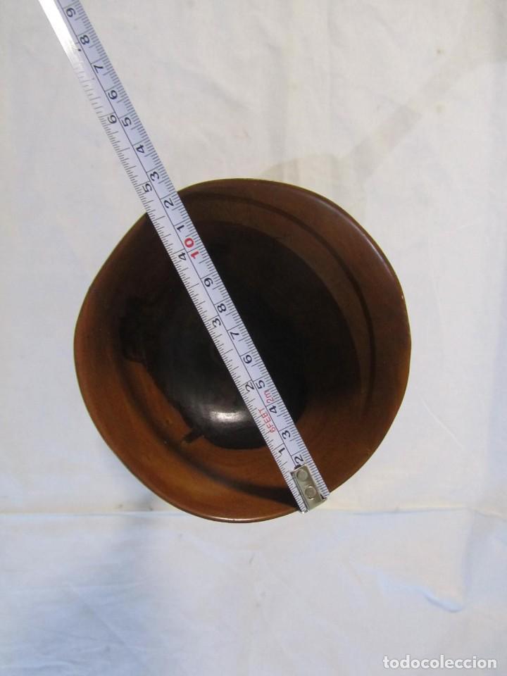 Vintage: Copa de madera torneada grande de 2 piezas - Foto 13 - 217479162