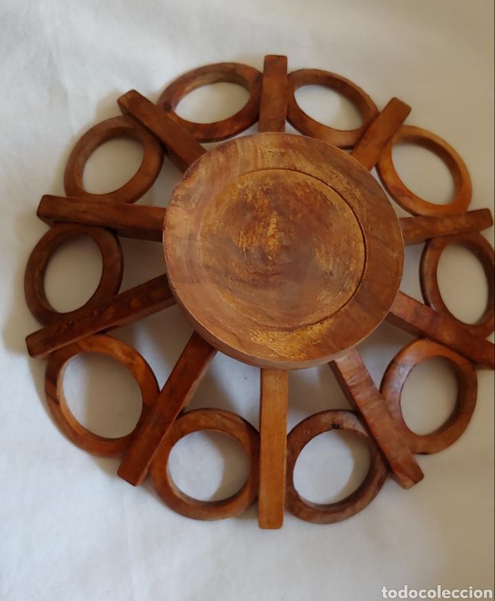 Vintage: Antiguo frutero en madera - Foto 2 - 217621990