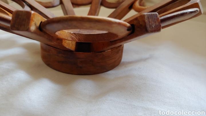 Vintage: Antiguo frutero en madera - Foto 3 - 217621990