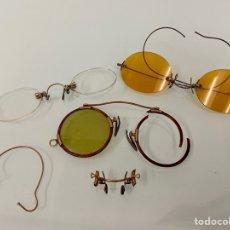 Vintage: PIEZAS GAFAS QUEVEDO PARA RECAMBIOS. Lote 218820286