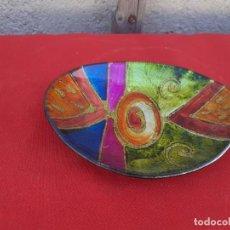 Vintage: PEQUEÑA BANDEJA COLORES. Lote 219099988