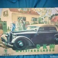 Vintage: CUADRO PUBLICIDAD VINTAGE DKW MEISTERKLASS. Lote 219490152