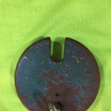 Vintage: CANDADO RUE BARCELONA. Lote 219849465