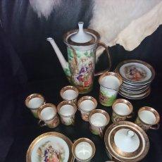 Vintage: JUEGO DE CAFÉ TE C . P LIMONGES.. Lote 220083590
