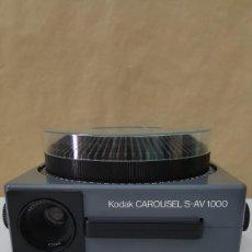 Vintage: PROYECTORA KODAK CAROUSEL S AV-1000. Lote 220138240