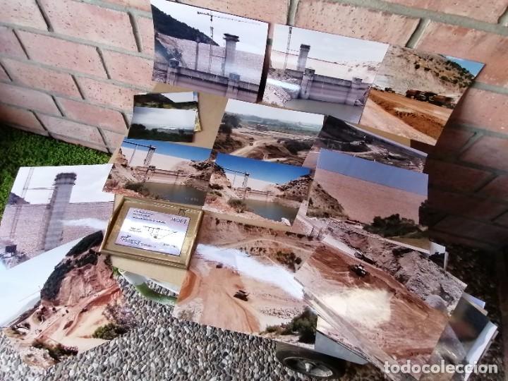 LOTE DE FOTOGRAFIAS DE LA CONSTRUCCION PRESA DE GUADALCACIN (Vintage - Decoración - Varios)