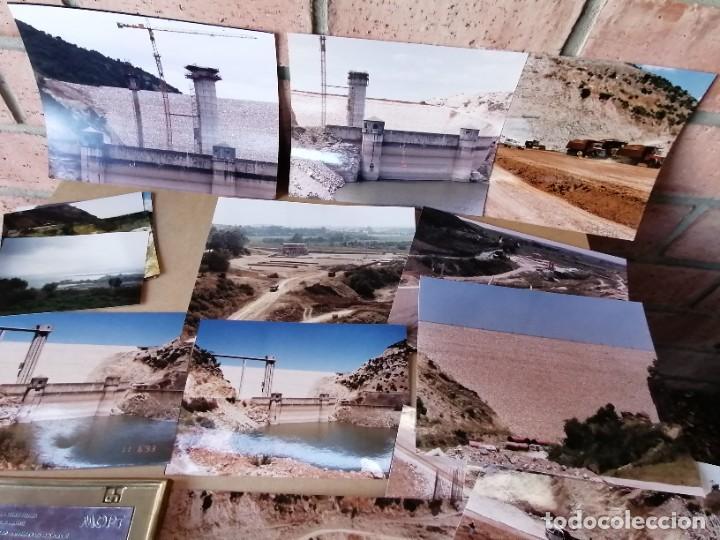 Vintage: lote de fotografias de la construccion presa de guadalcacin - Foto 5 - 220721012