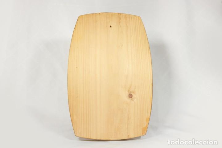 Vintage: Tabla soviética Khokhloma pintada sobre madera - Foto 4 - 221307067
