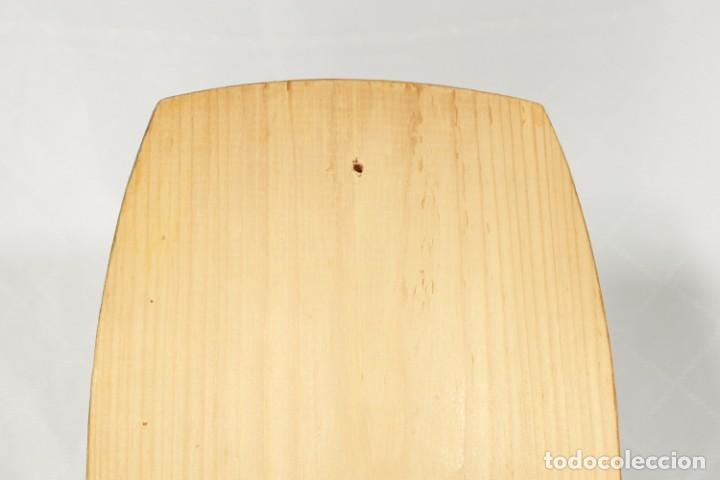 Vintage: Tabla soviética Khokhloma pintada sobre madera - Foto 5 - 221307067