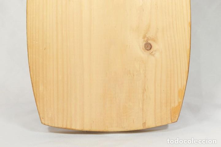 Vintage: Tabla soviética Khokhloma pintada sobre madera - Foto 6 - 221307067