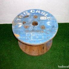 Vintage: CARRETE BOBINA DE MADERA IDEAL MESA.63 X 45 CM.. Lote 221912992