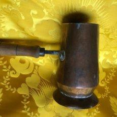 Vintage: CHOCOLATERA DE COBRE. CIRCA 1905.. Lote 222144662