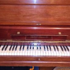 Vintage: PIANO DE CAOBA ROBERT MAURELL. Lote 222705992